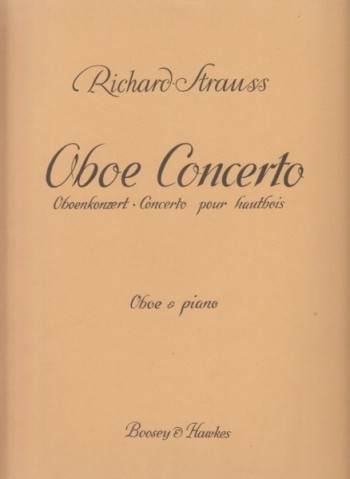 Image for Concerto for Oboe and Small Orchestra - Oboe & Piano