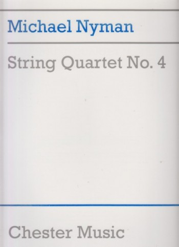 Image for String Quartet No.4 - Full Score
