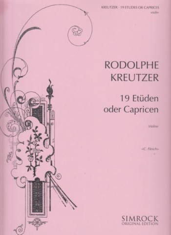 Image for 19 Etudes or Caprices for Violin