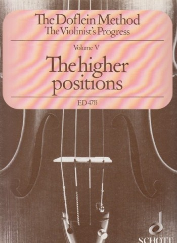 Image for The Doflein Method Volume V - The Higher Positions