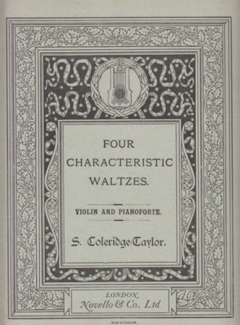 Image for Four Characteristic Waltzes for Violin and Piano, Op.22