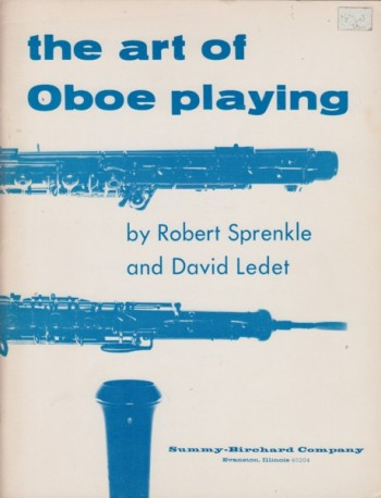 Image for The Art of Oboe Playing