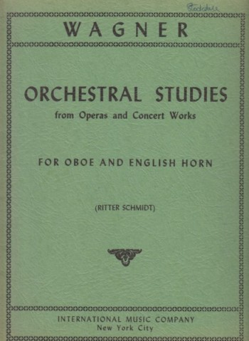 Image for Orchestral Studies from Operas and Concert Works for Oboe and English Horn