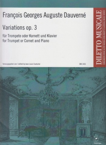 Image for Variations, Op.3 for Trumpet or Cornet and Piano