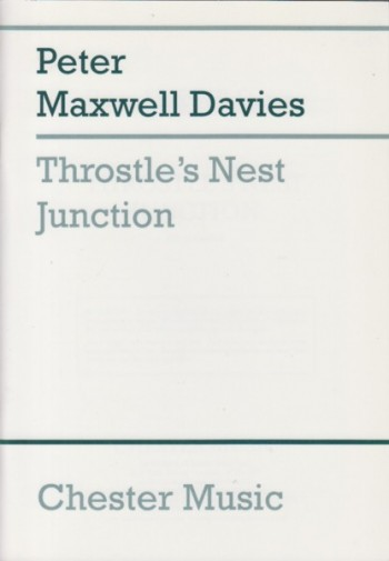 Image for Throstle's Nest Junction for Orchestra - Study Score