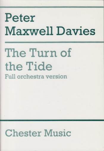 Image for The Turn of the Tide (Full Orchestra Version) - Study Score