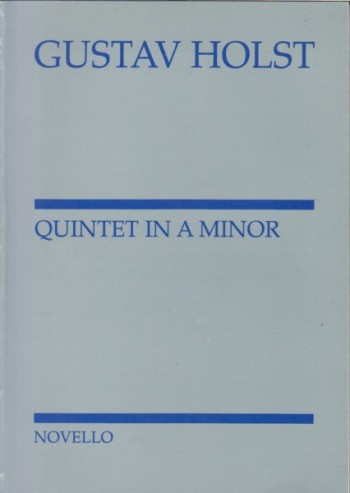 Image for Quintet for Piano and Winf in a minor, Op.3 - Study Score