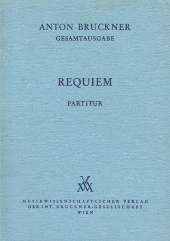 Image for Requiem in d minor (1849) - Full Score
