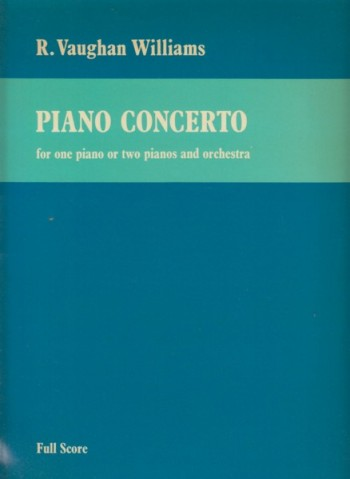 Image for Piano Concerto for One or Two Pianos and Orchestra - Full Score