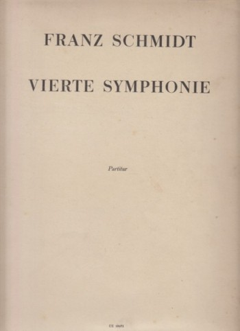 Image for Symphony No.4 (1933) - Full Score