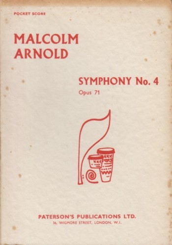 Image for Symphony No.4, Op.71 - Study Score