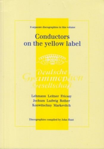 Image for Conductors on the Yellow Label - 8 Separate Discographies