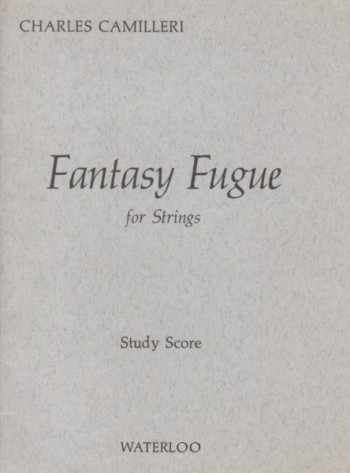 Image for Fantasy Fugue for Strings - Study Score