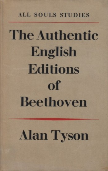 Image for The Authentic English Editions of Beethoven