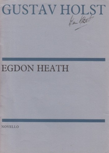 Image for Egdon Heath, Op.47 - Study Score