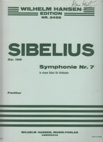 Image for Symphony No.7, Op.105 - Full Score