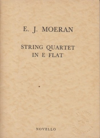 Image for String Quartet in E flat - Study Score