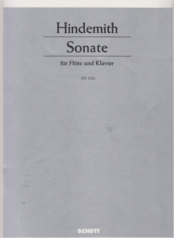 Image for Sonata for Flute and Piano (1936)