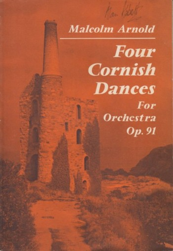 Image for Four Cornish Dances for Orchestra, Op.91 - Study Score