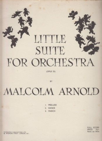 Image for Little Suite for Orchestra, Op.53 - Full Score