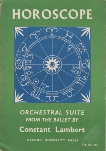 Image for Horoscope, Orchestral Suite from the Ballet - Study Score