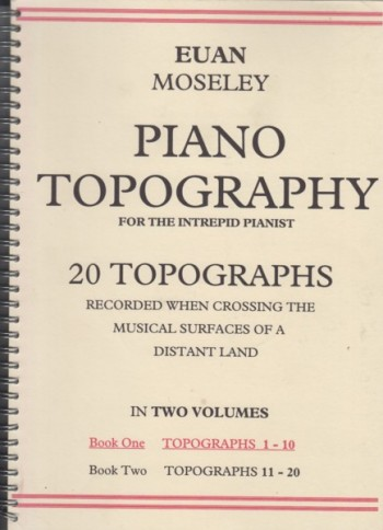 Image for Piano Topography for the Intrepid Pianist - Book One Topographs 1 to 10