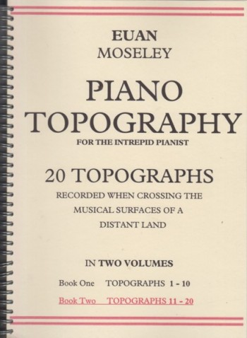Image for Piano Topography for the Intrepid Pianist - Book Two Topographs 11 to 20
