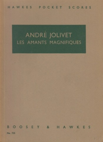 Image for Les Amants Magnifiques, Variations on a Theme of Lully - Study Score