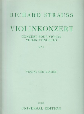 Image for Violin Concerto, Op.8 - Violin & Piano
