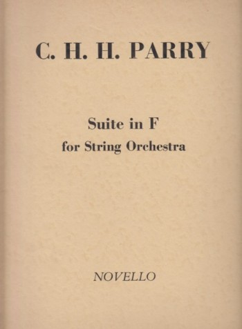 Image for Suite in F for String Orchestra (Lady Radnor Suite) - Full Score