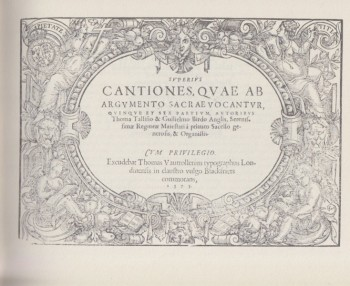 Image for Cantiones Sacrae 1575