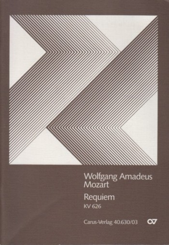 Image for Requiem, KV 626 - Vocal Score