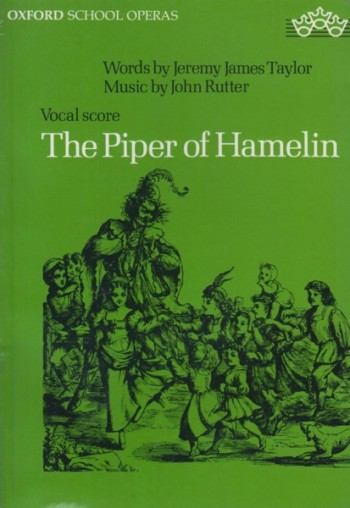 Image for The Piper of Hamelin, An Opera for Schools - Vocal Score