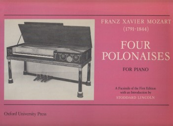 Image for Four Polonaises for Piano