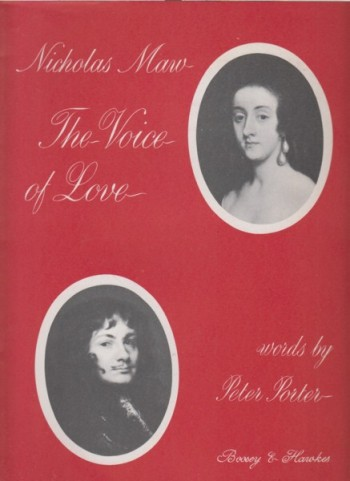Image for The Voice of Love, Song Cycle