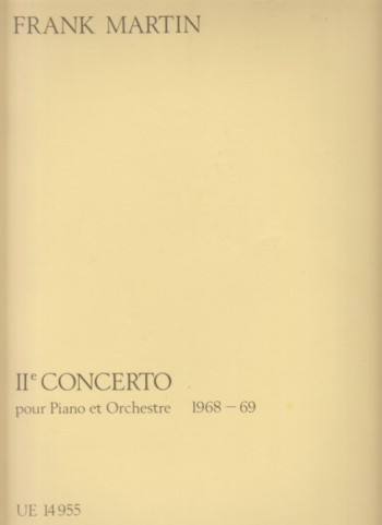 Image for Piano Concerto No.2 (1968 - 69) - Two Pianos Four Hands