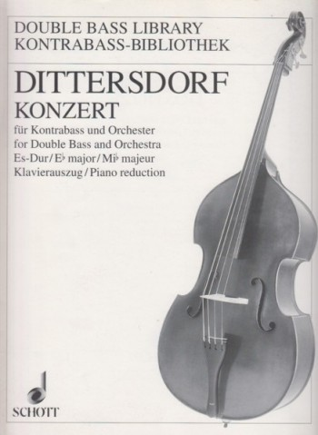Image for Concerto for Double Bass and Orchestra in E flat Major - Double Bass & Piano