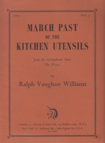Image for March Past of the Kitchen Utensils - Full Score