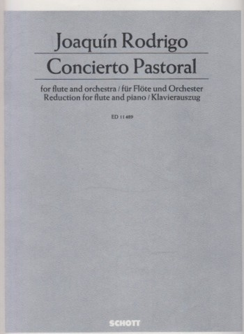 Image for Concierto Pastoral for Flute and Orchestra - Flute & Piano