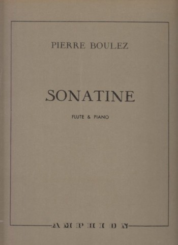 Image for Sonatine for Flute and Piano