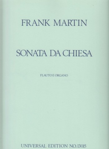 Image for Sonata da Chiesa for Flute and Organ