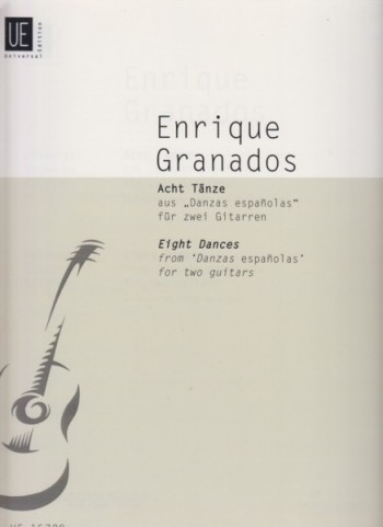"Image for Eight Dances from ""Danzas Espanolas"" for Two Guitars"