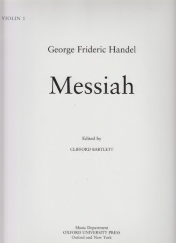 Image for Messiah - Set of Orchestral Parts