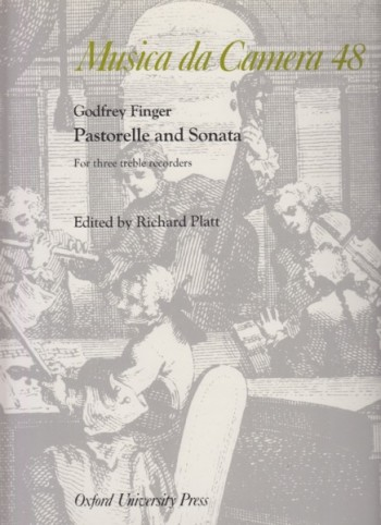 Image for Pastorelle and Sonata for Three Treble Recorders - Score and Parts
