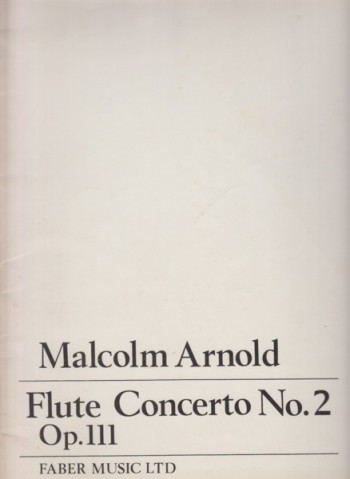 Image for Flute Concerto No.2, Op.111 - Full Score
