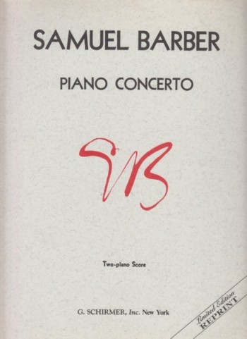 Image for Piano Concerto, Op.38 - Two Piano Score