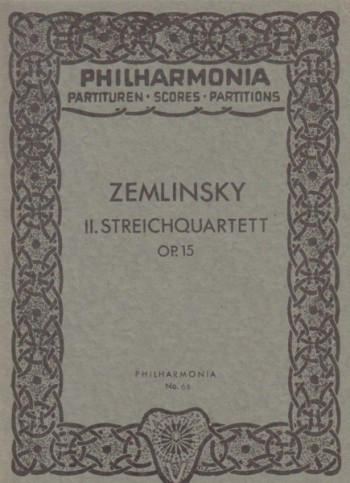 Image for String Quartet No.2, Op.15