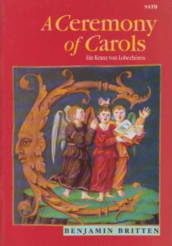Image for A Ceremony of Carols, Op.28 - SATB & Harp
