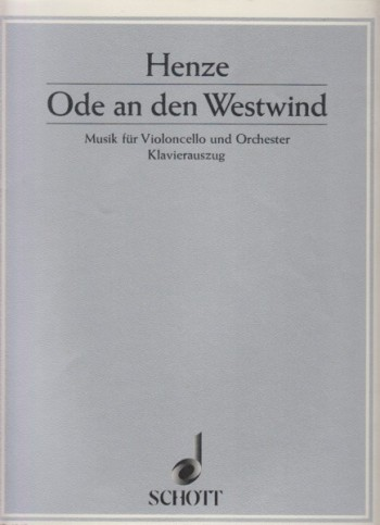 Image for Ode an den Westwind - Cello & Piano