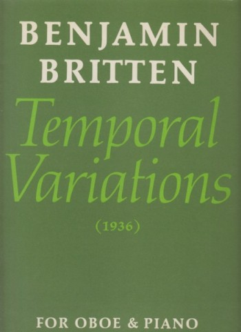 Image for Temporal Variations (1936) for Oboe & Piano